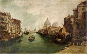 Anonymous View of Venice oil painting reproduction