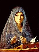 Antonello da Messina Virgin Annunciate china oil painting artist