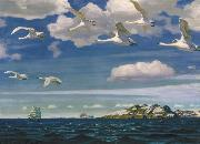 Arkady Alexandrovich Rylov In the Blue Expanse oil