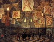 Bartholomeus van Bassen Interior of the Great Hall on the Binnenhof in The Hague. oil painting