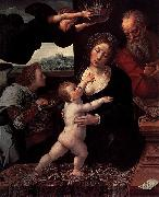 Bernard van orley Holy Family painting