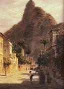 Bernhard Wiegandt Sao Clemente Street oil painting reproduction