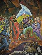 Bohumil Kubista The Raising of Lazarus oil painting reproduction