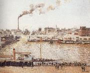 Camille Pissarro View of Rouen china oil painting artist