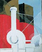 Charles Demuth Paquebot oil on canvas