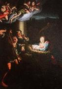 Christoph Franz Hillner Holy night painting