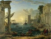 Claude Lorrain The Embarkation of the Queen of Sheba china oil painting artist