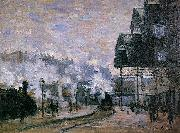 Claude Monet the Western Region Goods Sheds oil painting reproduction
