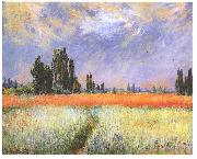 Claude Monet Wheatfield oil painting reproduction