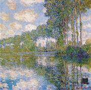 Claude Monet Poplars at the Epte oil painting reproduction