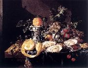 Cornelis de Heem Still-Life with Oysters oil on canvas