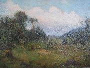 Creator:Edmond Dyonnet A forest meadow oil on canvas