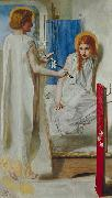 Dante Gabriel Rossetti The Annunciation oil painting reproduction