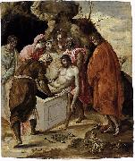 El Greco The Entombment of Christ oil painting reproduction