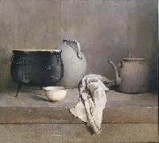 Emil Carlsen Study in Grey oil on canvas
