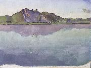 Ferdinand Hodler Thunersee mit Stockhornkette oil painting reproduction