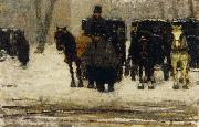 Floris Arntzenius Rental coaches in the snow oil