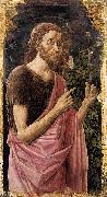 Fra Carnevale St John the Baptist oil on canvas