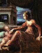 Francesco Parmigianino Virgin and Child china oil painting artist