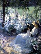 Frank Bramley Delicious Solitude oil