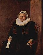 Frans Hals Portrait of an unknown woman oil painting reproduction