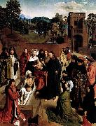 Geertgen Tot Sint Jans The Raising of Lazarus oil painting reproduction