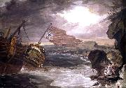 George Carter Oil painting of the East Indiaman oil on canvas