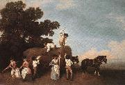 George Stubbs Haymakers painting