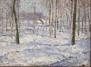 Georges Buysse Winter Landscape oil painting reproduction