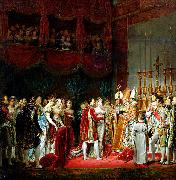 Georges Rouget Marriage of Napoleon I and Marie Louise. 2 April 1810. oil