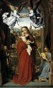 Gerard David Virgin and Child with Four Angels china oil painting artist