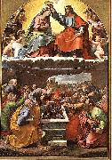 Giulio Romano Coronation of the Virgin oil painting reproduction