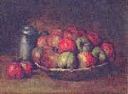 Gustave Courbet Still Life with Apples and a Pomegranate oil painting reproduction
