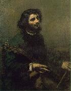 Gustave Courbet The Cellist china oil painting artist