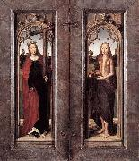 Hans Memling Triptych of Adriaan Reins oil painting reproduction