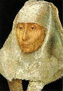 Hans Memling Portrait of an Old Woman oil painting reproduction