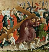 Hans Multscher The Cross of Christ; The Wings of the Wurzach Altar china oil painting artist