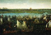 Hendrik Cornelisz. Vroom Battle of Haarlemmermeer, 26 May 1573 oil on canvas