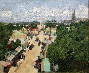 Henri Evenepoel Fair at Les Invalides oil painting reproduction