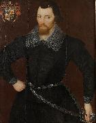 Hieronimo Custodis Portrait of a Gentleman, Probably Wilson Gale oil on canvas
