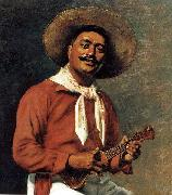 Hubert Vos Hawaiian Troubadour painting