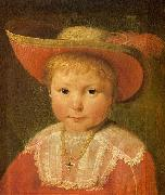Jacob Gerritsz Cuyp Portrait of a Child oil painting reproduction