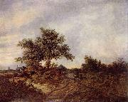 Jacob Isaacksz. van Ruisdael Landschaft oil