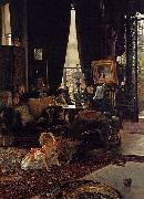 James Jacques Joseph Tissot Hide and Seek painting