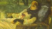 James Joseph Jacques Tissot The Dreamer oil painting