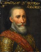 Jan Antonisz. van Ravesteyn Portrait of Francisco Hurtado de Mendoza, admiral of Aragon. oil painting reproduction