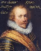 Jan Antonisz. van Ravesteyn Portrait of Philips, count of Hohenlohe zu Langenburg. painting
