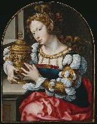 Jan Gossaert Mabuse Mary Magdalen oil on canvas