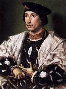Jan Gossaert Mabuse A Noble Man oil on canvas
