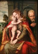 Jan Massijs The Holy Family oil painting reproduction